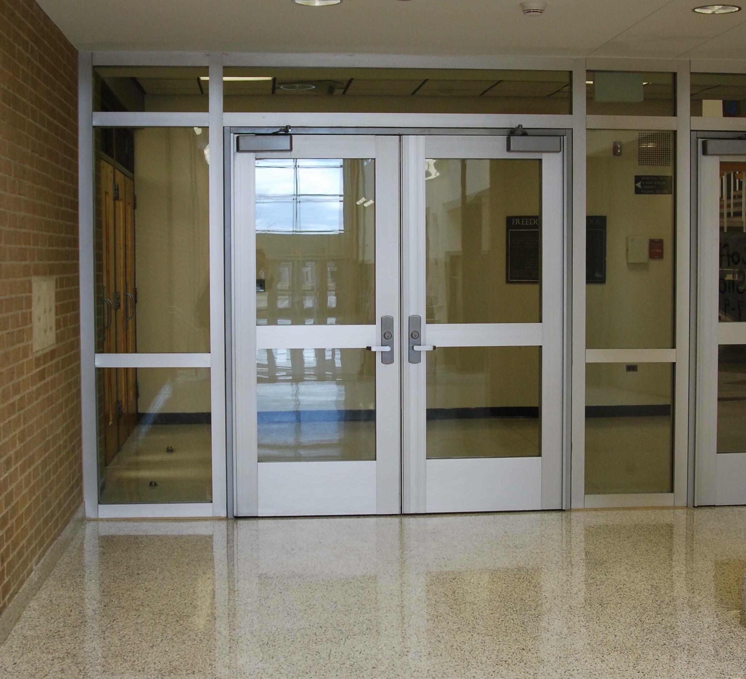 Freedom High School Bethlehem Pennsylvania & Gallery: Fire rated glass \u0026 framing | Safe Glass For Schools