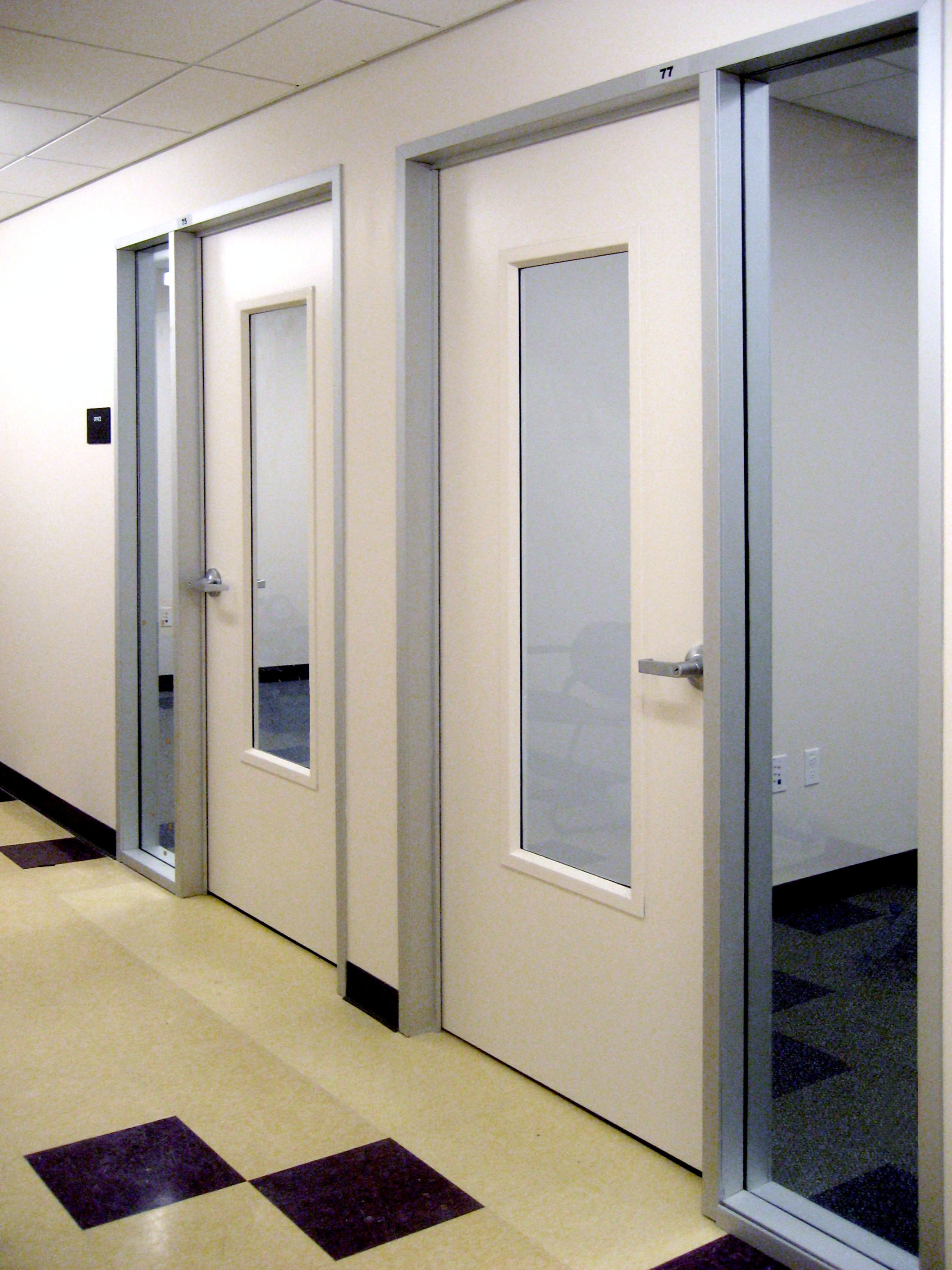 Gallery fire rated glass framing safe glass for schools - What is a fire rated door ...