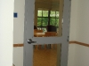 20-minute door in dormitory