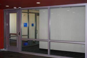 Fire Rated Glazing In 1 Hour Exit Corridors Safe Glass