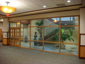 2-hour stairwell ... & Code requirements for fire rated glass in exit stairwell enclosures ...