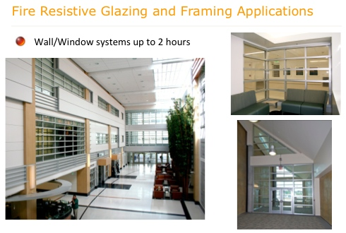 Fire Resistive Wall window systems