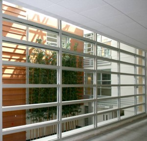 Exit Corridor, Medical School, University of California, Davis